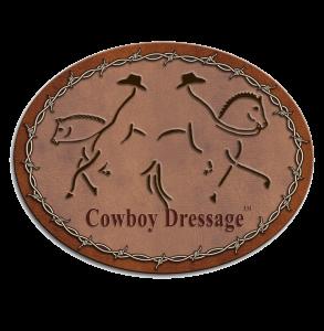 COWBOY DRESSAGE LOGO